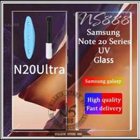 SAMSUNG GALAXY NOTE 20 ULTRA TEMPERED GLASS UV NANO LIQUID ANTI GORES