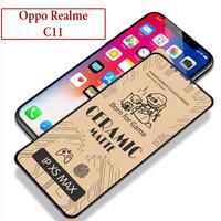 Oppo Realme C11 Anti Gores Oily Screen Guard Protector Ceramic Matte