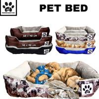 Bantal anjing kucing/tempat tidur/ranjang kucing anjing size L 65x50cm