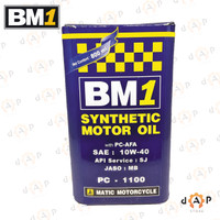 Oli BM1 Matic PC-1100 sae 10w40 800ml Motor Matik