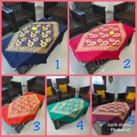 Taplak Meja Batik Cap Kotak Seno