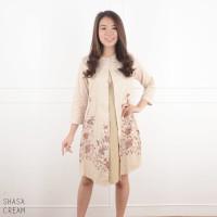 Sasha Dress - Dress Batik Wanita Terusan Wanita