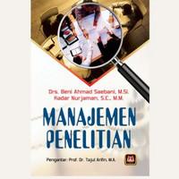Penelitian manajemen