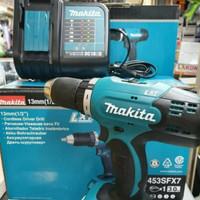 MESIN Bor Cordless 18 V Drill Driver Makita DDF453 / MAKITA DDF 453