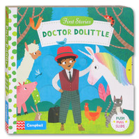 First Stories Doctor Dolittle - Push Pull Slide Board Book