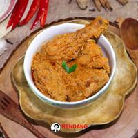 Rendang Daging Ayam 1/2 Ekor (Setengah ekor)