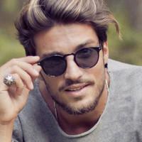 kacamata hitam pria retro fashion street sunglasses jgl154
