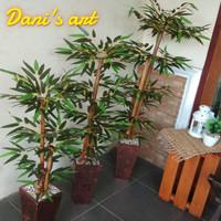 Pohon bambu palsu/bambu artificial/ pagar bambu/ bambu hias/Bambu