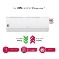 AC Split Dual Cool LG Inverter 1/2 pk T06EV4 06EV4