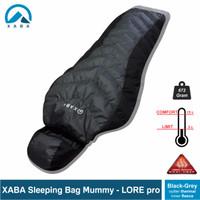 Sleeping bag mummy xaba Lore Pro outter thermal omny heat - fleece