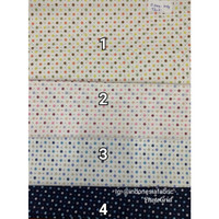 Kain bahan Katun Jepang Tokai senko motif Pixel