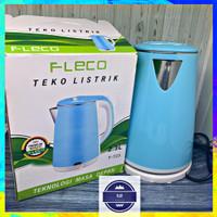 Teko Listrik FLECO F-723 2.3 Liter - Ketel Air Elektrik Stainless 2.3L