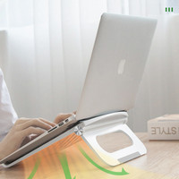 Dudukan Laptop Yello Plastik ABS + Silicone / Meja Laptop stand