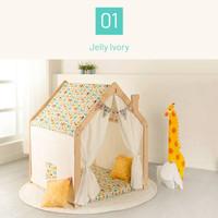 Ebonia - Angel Play House Rumah kayu mainan anak - Motif Jelly