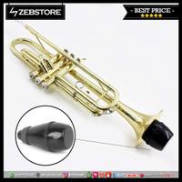 Peredam Mute Silencer Muffler Trumpet Cup Light Weight Black M1