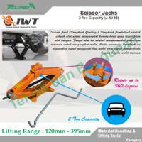 Scissor Jacks / Dongkrak Jembatan 2 Ton IWT
