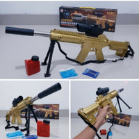 Mainan Senapan Water Gel Tembakan Peluru - Crystal Bullet Gun