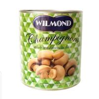 Wilmond Jamur Kancing 425 gr / Mushroom Champignons Kaleng