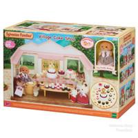 Rumah Sylvanian Family Toko Kue Village Cake Shop Dapat 1 Boneka