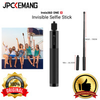 Invisible Selfie Stick Insta360 One R/One X Tongsis 70cm ORIGINAL