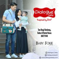 Dialogue Foxie Series Medium Diaper Bag DGT-7144/Tas Baju Bayi Sedan