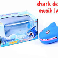 BESAR + MUSIC Shark Dentist Games / Family Games / Mainan Buaya Gigit