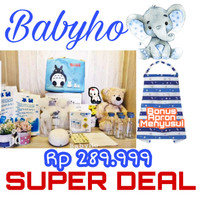 Babyho Paket Pompa Asi- Pompa Asi Elektrik- Real Bubbe- Hadiah ibu