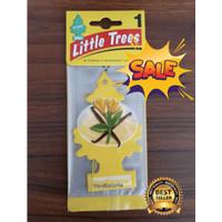 LITTLE TREES PARFUM PENGHARUM MOBIL CAR PERFUME 100% USA VANILLAROMA