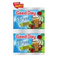 GOOD DAY Freeze Hazelnut Macchiato Kopi Instan [30 gr x 10 Sachet]