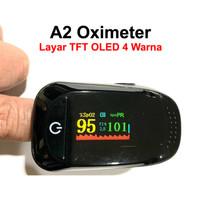 A2 Oximeter Fingertip Pulse SPO2 TFT OLED 4 Warna