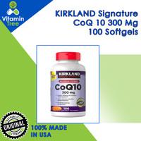 Kirkland CoQ10 300Mg 100 Softgel Kirkland Signature CoQ10 100 Softgel