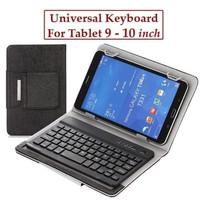 Evercoss ETab 10 Prime X9 Flip Leather Case Keyboard Bluetooth Casing