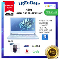 ASUS ROG STRIX G512LI-I75TB6B Core i7-10750H/8GB/512GB/GTX1650Ti 4GB