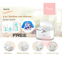 Sterilizer & Bottle Warmer 4 in Alat Steril UV Botol Susu Baby BIMIRTH