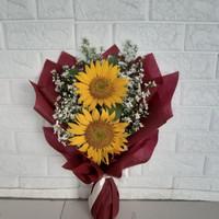 buket bunga matahari isi 2