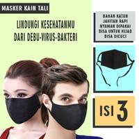 Masker kain tali nyaman dipakai efektif tangkal virus
