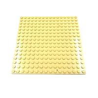 Lego Part Plate 16 x 16 Light Tan Original