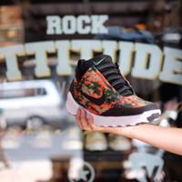 sepatu sneakers nike hyper adapt 1.0 new old stock black team orange