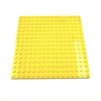 Lego Part Plate 16 x 16 Yellow Original