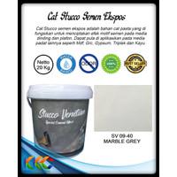 Kemasan 20Kg Cat Stucco Semen Ekspos-Marble Grey