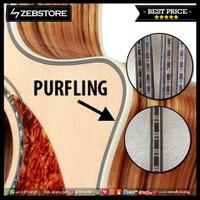 Purfling List Strip Side Belakang Body Gitar IB-915