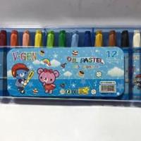 Crayon / Oil Pastel Murah 12 Warna Murah