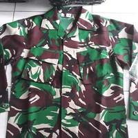 Baju PDL TNI Serbu Trimatra Velbed Premium