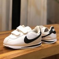 sepatu Bayi Nike Cortez White Black Original