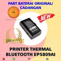 BATERAI ORI PRINTER BLUETOOTH EPPOS / Zjiang / Taffware 5809 EP5809AI