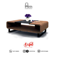 Coffee Table Minimalis Motif Kayu CT 1019 Expo / Meja Tamu Kayu Murah