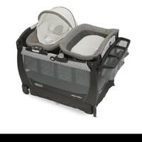 Playard GRACO Snuggle suite LX / tempat tidur bayi - Abbington