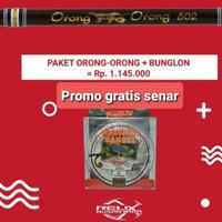 Joran Orong-orong Relix Nusantara 6-12 lbs panjang 182 cm lure 4-18 gr