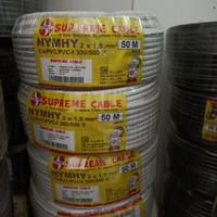 KABEL SUPREME NYMHY 2X1.5 SERABUT 2 X 1.5 50 METER
