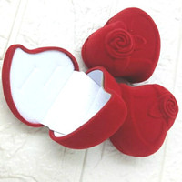Kotak Cincin Tempat Cincin Kotak Perhiasan Cincin Anting LOVE MAWAR